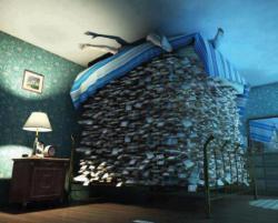 WOW!! Ternyata kebanyakan duit bikin susah tidur juga :D