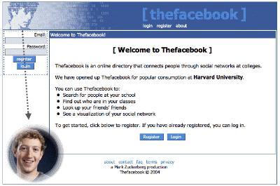 tampilan jadul facebook
