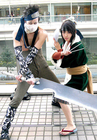 cosplay: zabusa & haku