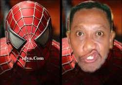 Ternyata Dibalik Topeng Spiderman Adalah Tukul WoW Ngeri Deh,...,.,.,