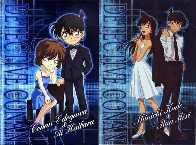 Siapa yang anda pilih. Conan-Ai atau Shinchi-Ran?