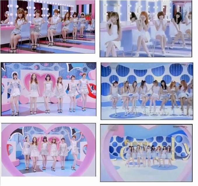 Chebok Plagiattt udah SNSD,7icon,after school,DLL sekarang AKB48