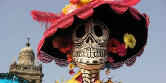 ini dia hari raya kematian di meksiko