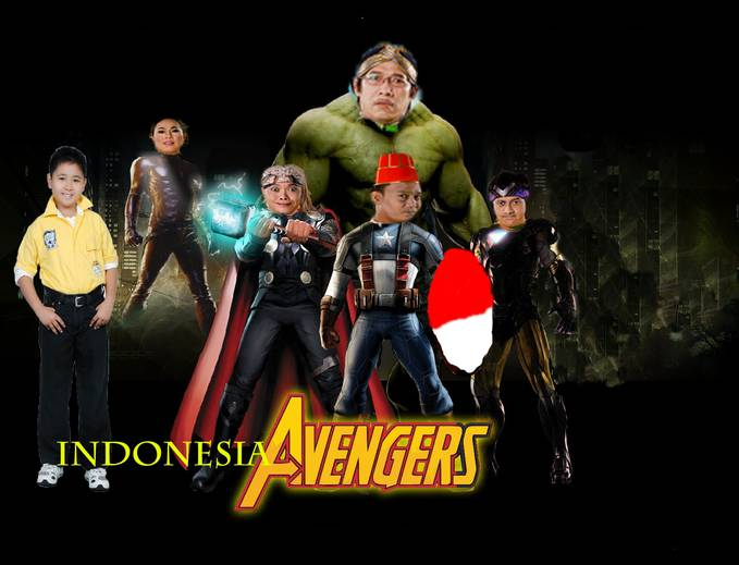indonesia avengers yang suka WOW yah.............