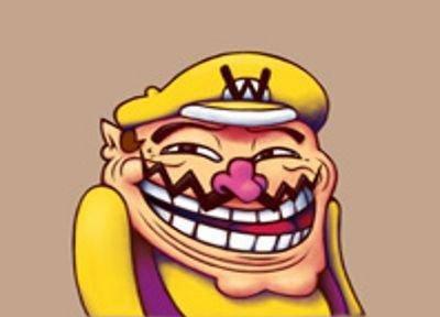 wario troll face