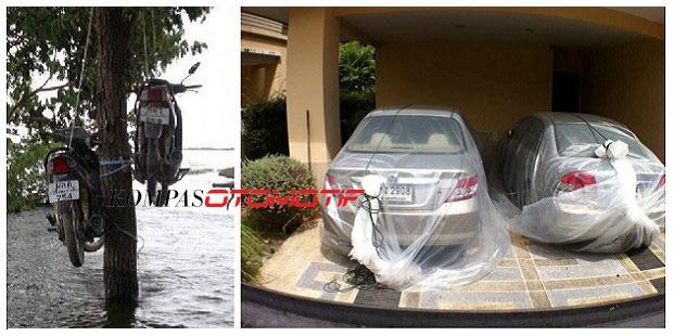 Solusi Terbaik Buat Kendaraan Agar Terhindar Dari Banjir :D