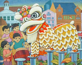 Barongsai adalah tarian tradisional Cina dgn menggunakan sarung yg menyerupai singa. Barongsai memiliki sejarah ribuan tahun. Catatan pertama tentang tarian ini bisa ditelusuri pada masa Dinasti Chin abad ke-3 sebelum masehi.. [GONG XI FA CAI]