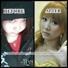 Ternyata Ryn Cherrybelle OPLAS!! Silahkan liat perbedaannya
