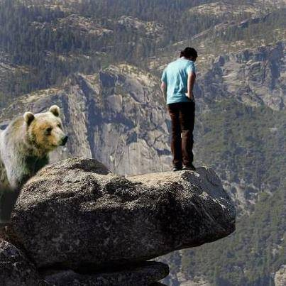 jgn luppa klik WOW nya!!!!! Apa yang kamu lakukan jika menjadi Orang ini. belakang beruang buas, depan jurang. a. Melawan Beruang Buas Dengan Segala Kemampuan b. Lompat Kedalam Jurang c. Berdoa KepadaNYA