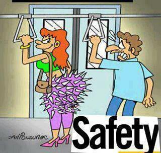 WOW.... Safety... hahahaha