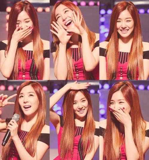 lihat senyuman Tiffany SNSD sangat lucu!!! banyak orang Korea Mengatakan Bahwa Tiffany SNSD Wanita Tercantik dan terlucu dalam senyumannya loh!!! Wow nya jangan lupa yah!