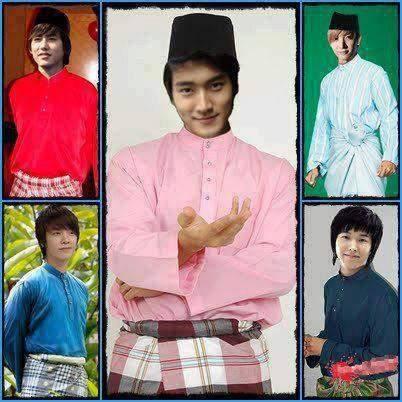 Mungkinkah Super Junior pake baju kyak Gini..??