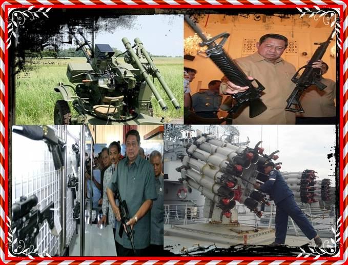 Presiden INDONESIA ( Susilo Bambang Yudoyono ) Melaksanakan Pembelian Masal Senjata Buatan Negaranya Sendiri Untuk Pertahanan Indonesia Agar Semakin Kokoh 1 WoW Banget Ni Pak SBY kayak nya Dah Siap Mau Perang #heuheu ( WoWnya Donk Semuanya