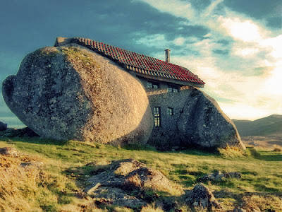 Stone House........So HOT in The room...........huft......
