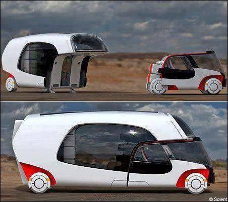 RV Solent Konsep - Solar Powered Camper dan Mobil
