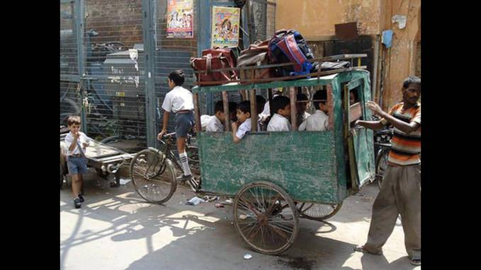 Haha .. =)) Bike Bus, Made In India =)) Hahaha .. #LOL