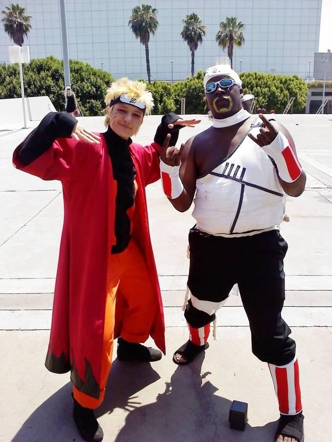 cosplay naruto & killer bee......hehehehehe