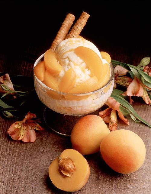 Apricot Ice Cream,,,,Nyam,,,Nyam,,,Nyam,,,