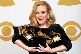 ADELE raih 5 piala GRAMMY AWARDS dalam album SOMEONE LIKE YOU... hebat, kerenn, fantastic... ;)