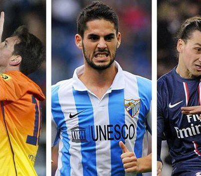 Who Is The Best ? 1) ISCO + WOW 2) IBRA + WOW 2) MESSI + WOW +LIKES