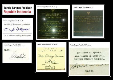 Tanda Tangan para Presiden RI Sobat Pulsker suka yang mana? ^_^