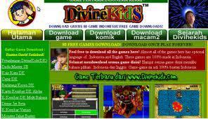 Kalian tahu tidak dengan Divinekids? Divinekids penggagas game pertama buatan Indonesia. Sekarang Divinekids usdah mengeluarkan banyak game. Salahsatunya adalah Cherry Days, Sepak Bola Divine Kids, Love Journey, dan Ghost In Campus,dll