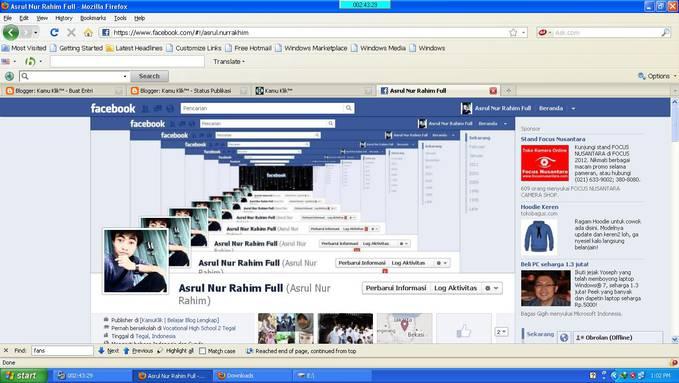 tampilan facebook ERROR atau gimana yaa???