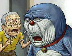 Doraemon & Nobita diusia senja.