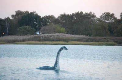 monster loch ness di duga sebuah plesiosaurus yang tersisa dari masa dinosaurus.ada sonars yang telah melihat sesuatu.