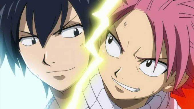 Fairy Tail :D Natsu & Gray .. Jangan lupa WOW nya ya ..