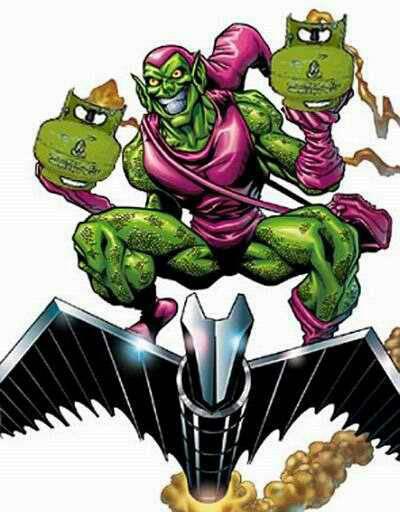 Kira-kira Green Goblin bkl mnng gk lwan Spider-man klu bomny gnian??? jgn lpa WOWny y!!!!