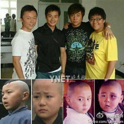 Siapa yang ingat masa kecil2 dulu. bocah kungfu yg empat org dibawah ini?
