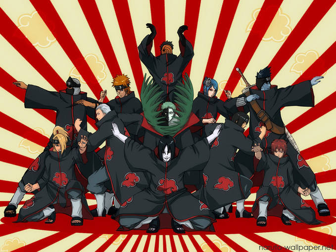 jika semua anggota akatsuki bersatu