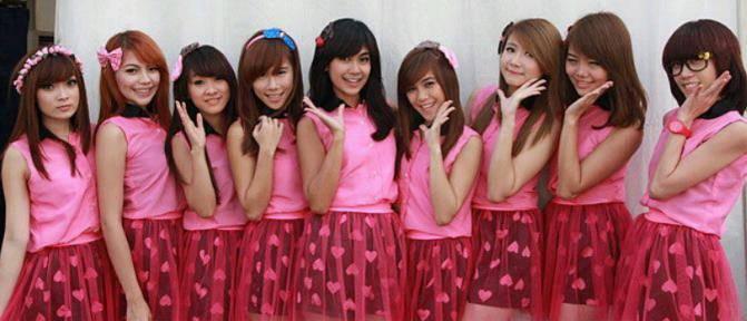CherryBelle adalah GirlBand yang Internasional di seluruh indonesia