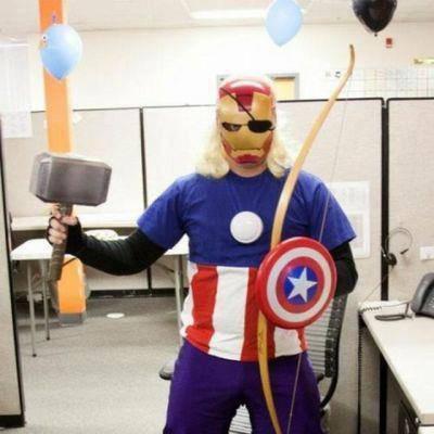persatuan super hero