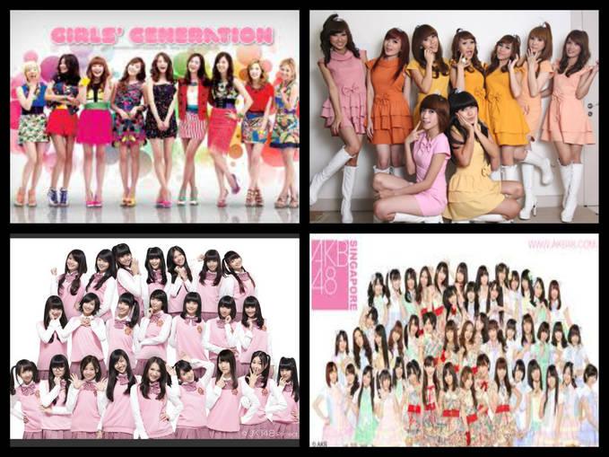 kalian pilih mana kalo pilih girls generation = KLIK WOW cherrybelle = coment cherrybelle JKT48 = Coment Fans JKT48 AKB48 = Coment AKB48 Pilih salah satunya ya ...