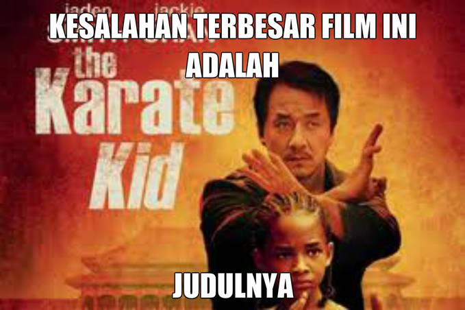 Film Kung Fu kok judulnya Karate =_=