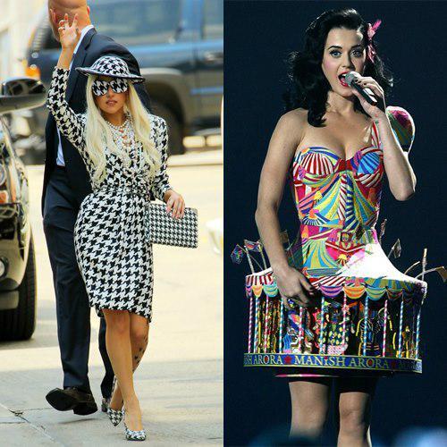 Menurut kamu kerenan gayanya siapa? Lady Gaga atau Katy Perry?
