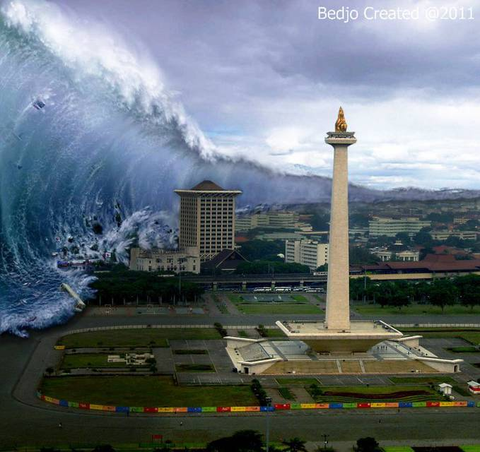 Mega Tsunami.... semoga tidak akan terjadi....