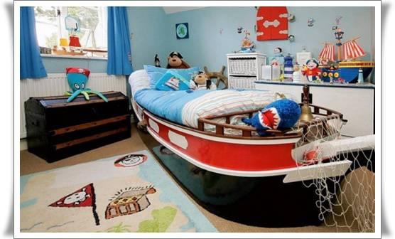 WOW ! Kasur tidur tapi mirip perahu . jangan lupa klik WOW yah :)