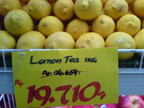 ini lemon yg sok2 an