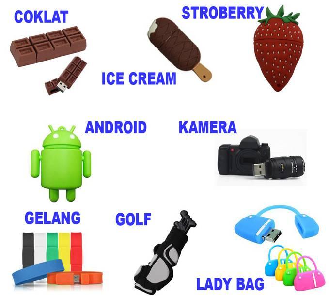 FLASHDISK UNIK FRUIT & LIFESTYLE Kalian pilih mana?? Dan Udah punya yg mana??