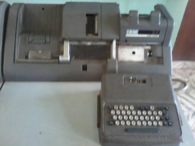 Mesin Komputer ketik Kuno, Pada masa penjajahan belanda-jepang