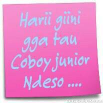 Hari gini,gk kenal sama boyband terkenal Coboy Junior! WOWnya dong yg Comate