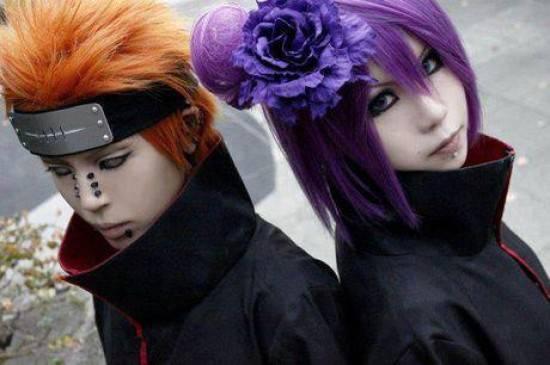 pain and konan cosplay