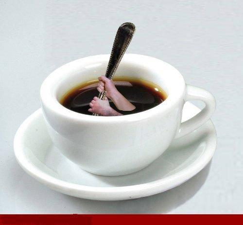 Coffee time..silahkan disedu sendiri ya...