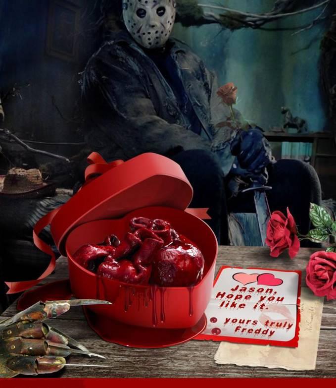 Kado yang luar biasa dari Freddy The Nightmare untuk Jason The Friday 13th