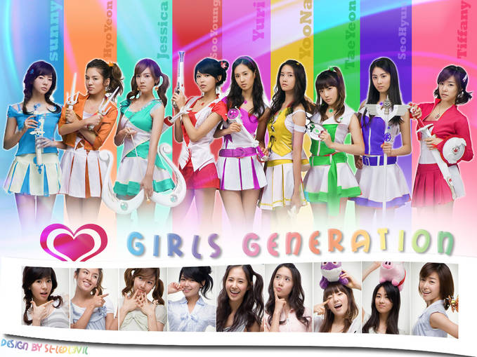Girls Generation • Jessica • Yoona • Sunny • Sooyoung • Tiffany • Yuri • Seohyun • Taeyeon • Hyoyeon