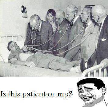 1 pasien diperiksa 5 dokter?? ga salah??! Is this patient or mp3?? haha :D WOW nya!!