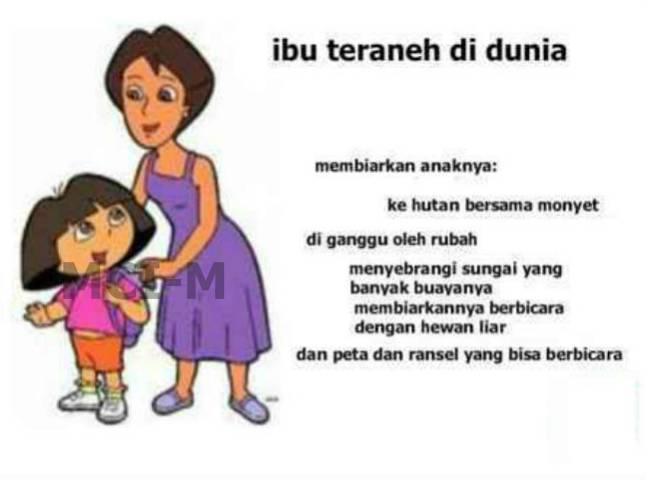 Ibu nya Dora